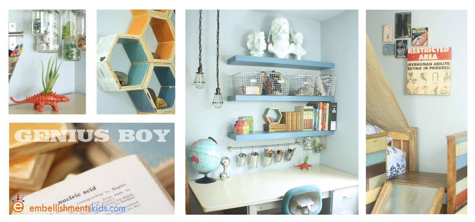 Best Embellishments Kids Genius Boy S Bedroom The Theory Of With Pictures
