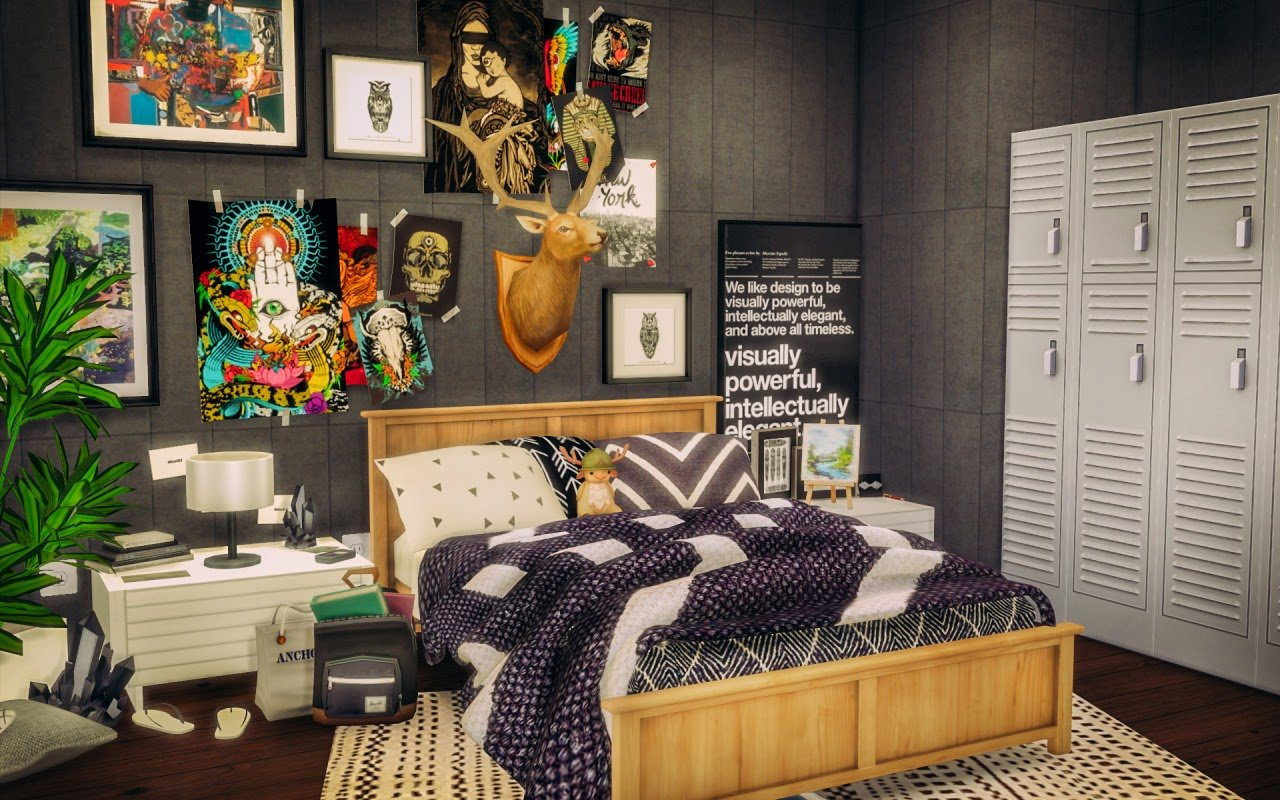 Best My Sims 4 Blog Sylvan Bedroom Room By Simsalachie With Pictures