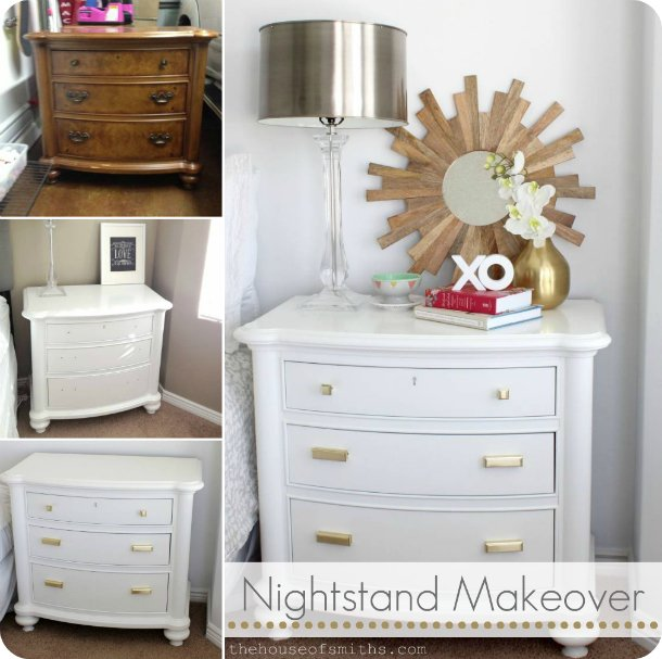 Best Master Bedroom Makeover Nightstand Revamp A Clean Slate With Pictures