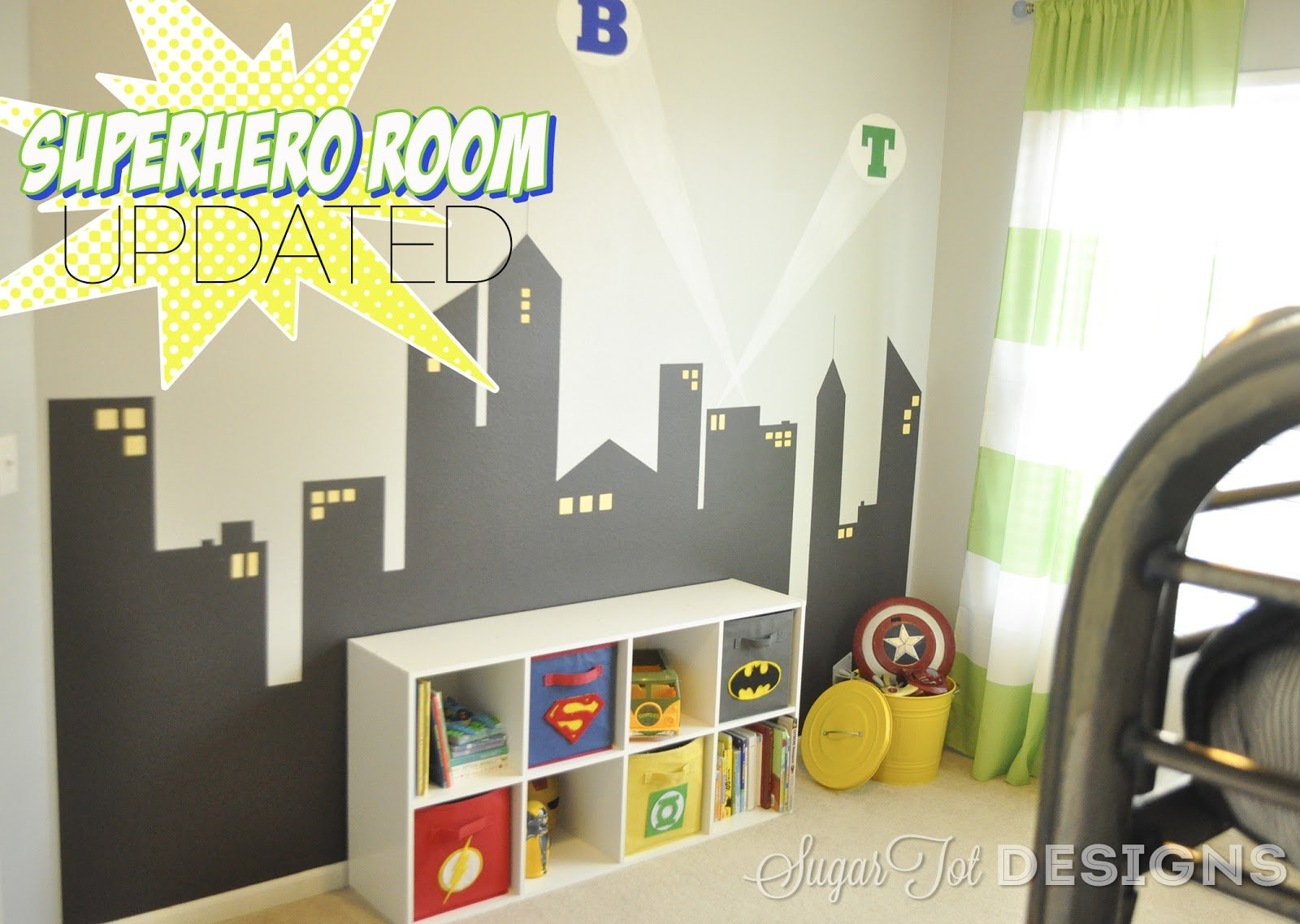 Best Sugartotdesigns Superhero Bins Tutorial And Printable With Pictures