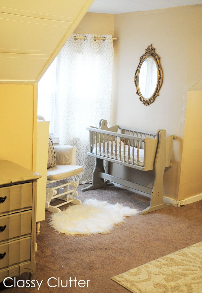Best Baby S Mini Nursery Nook In Our Master Bedroom Classy With Pictures