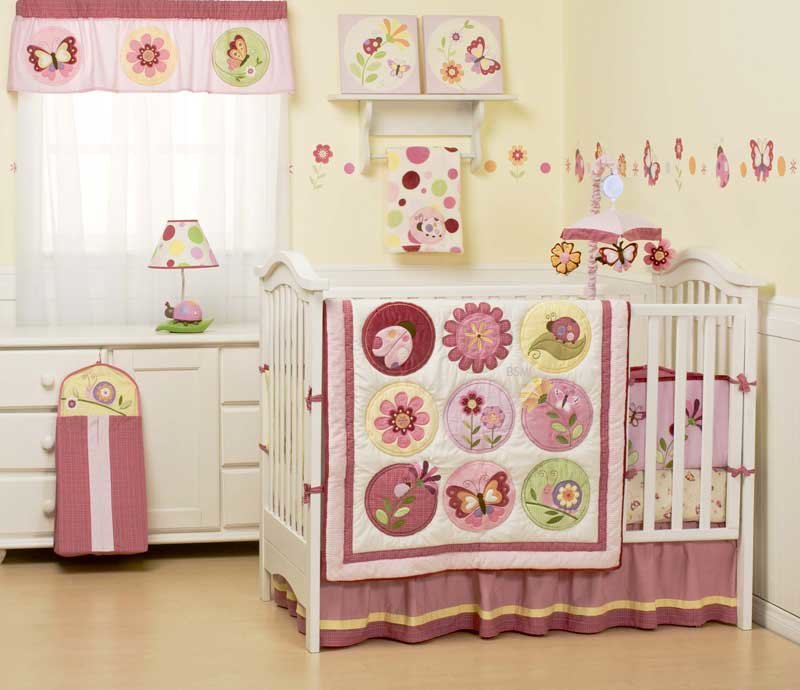 Best Robbie Cass 2 Baby Girls Bedroom Bedding Set And With Pictures