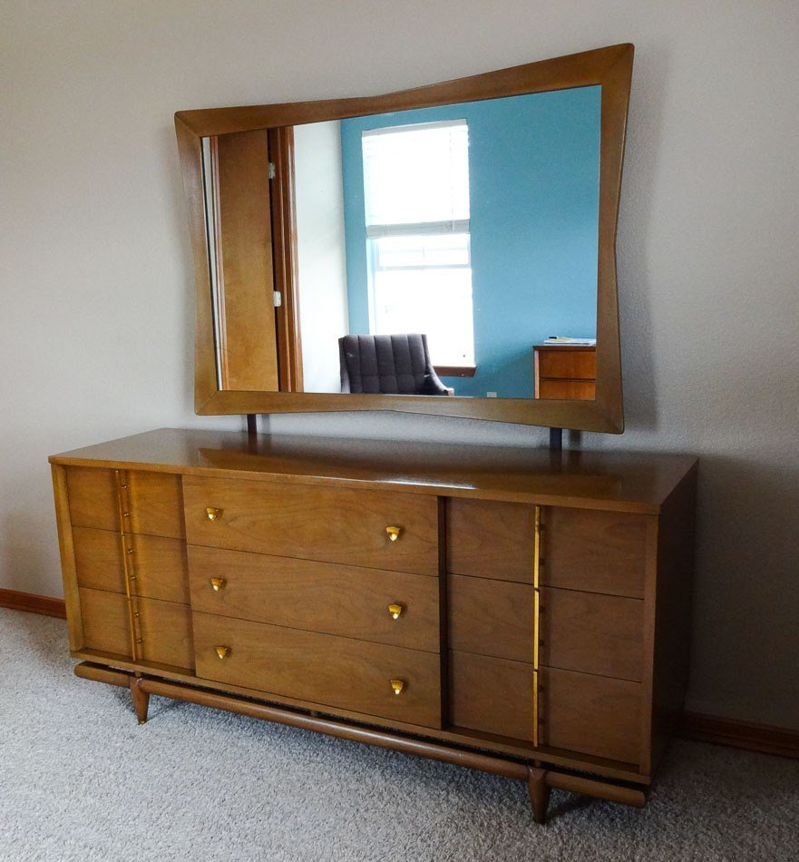 Best Mid Century Modern Bedroom Set Dresser Chest With Pictures