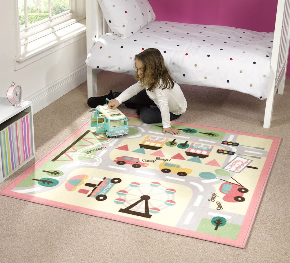 Best Kids Fun Playtime Carpet Rug For Childrens Bedroom With Pictures