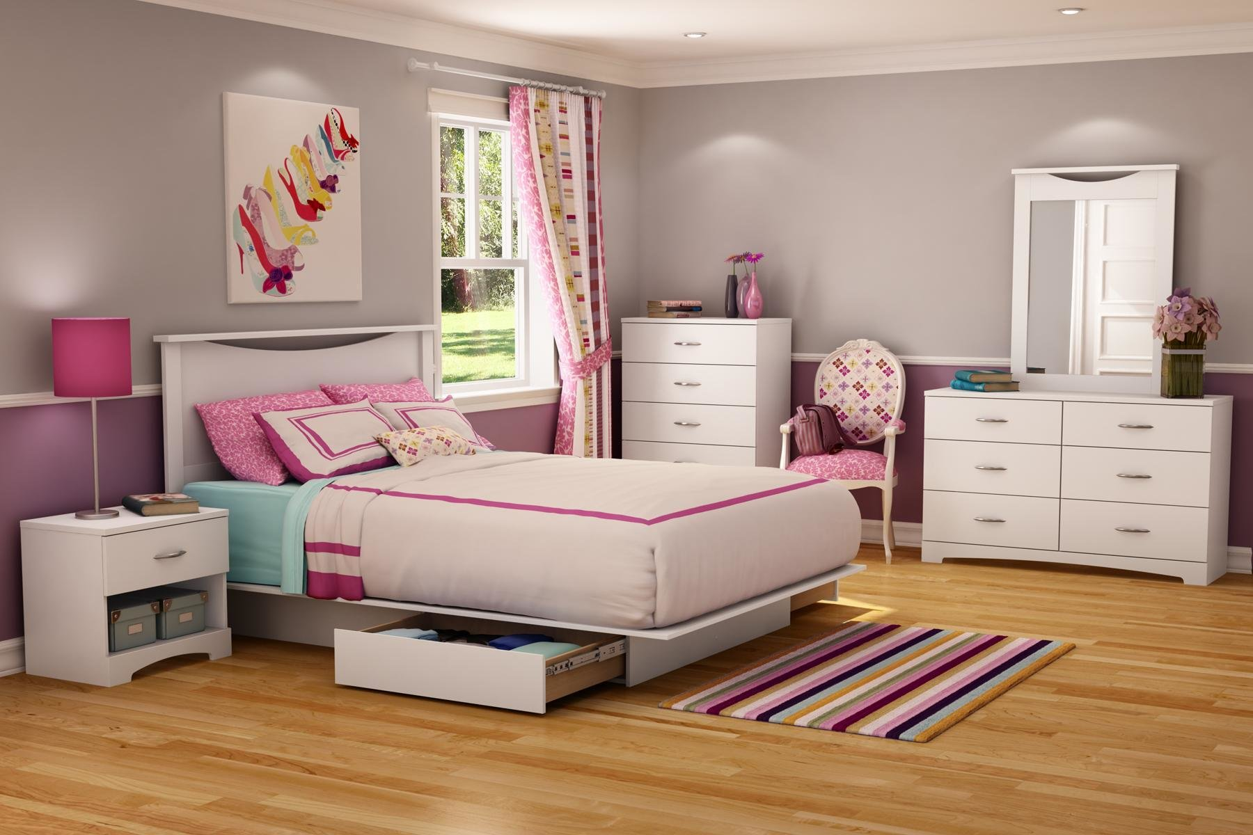 Best 25 Romantic And Modern Ideas For Girls Bedroom Sets With Pictures