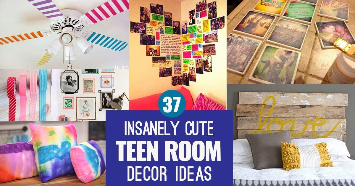 Best 37 Insanely Cute T**N Bedroom Ideas For Diy Decor Crafts With Pictures