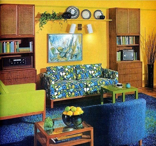 Best Living Room Inspiration – 60S 70S Tickle Me Vintage With Pictures