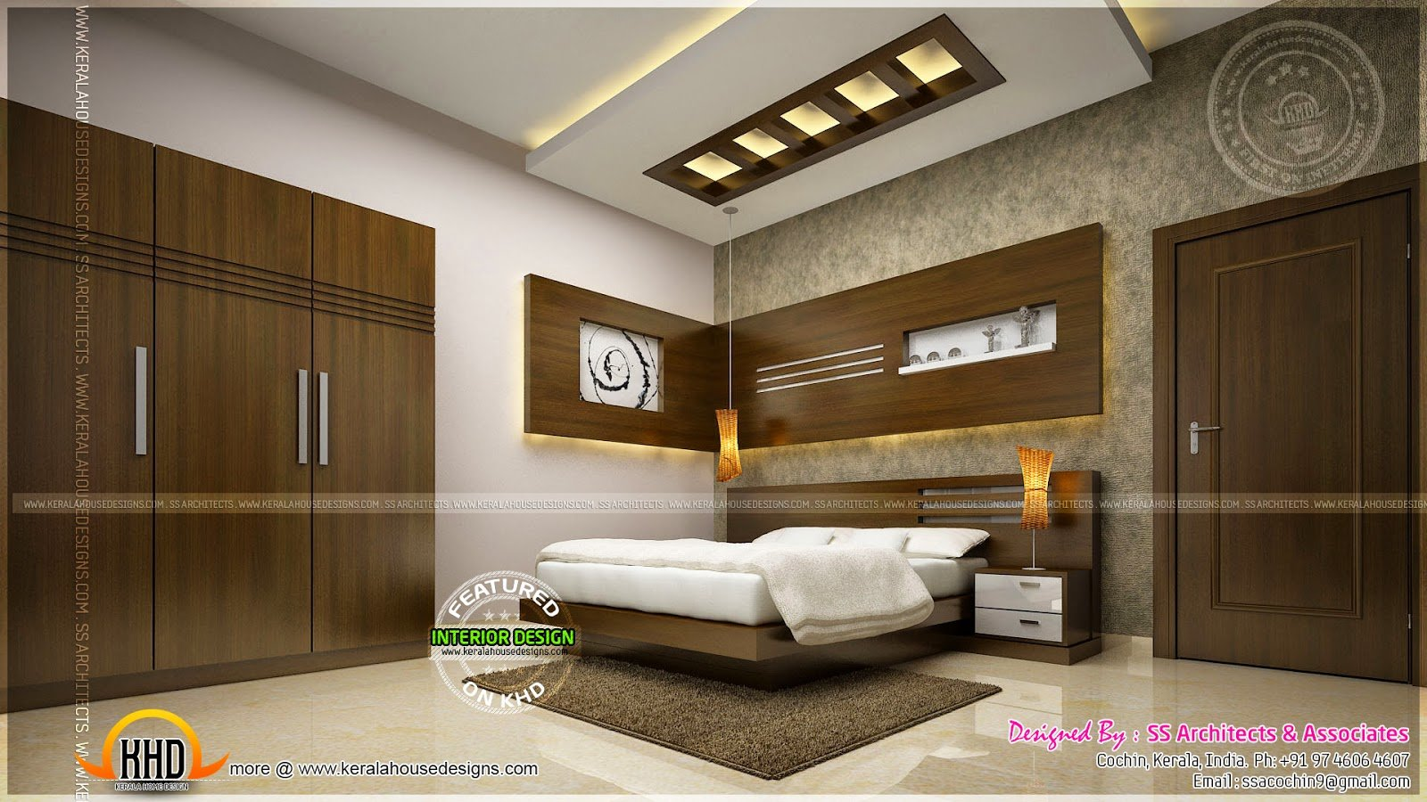 Best Awesome Master Bedroom Interior Kerala Home Design And With Pictures