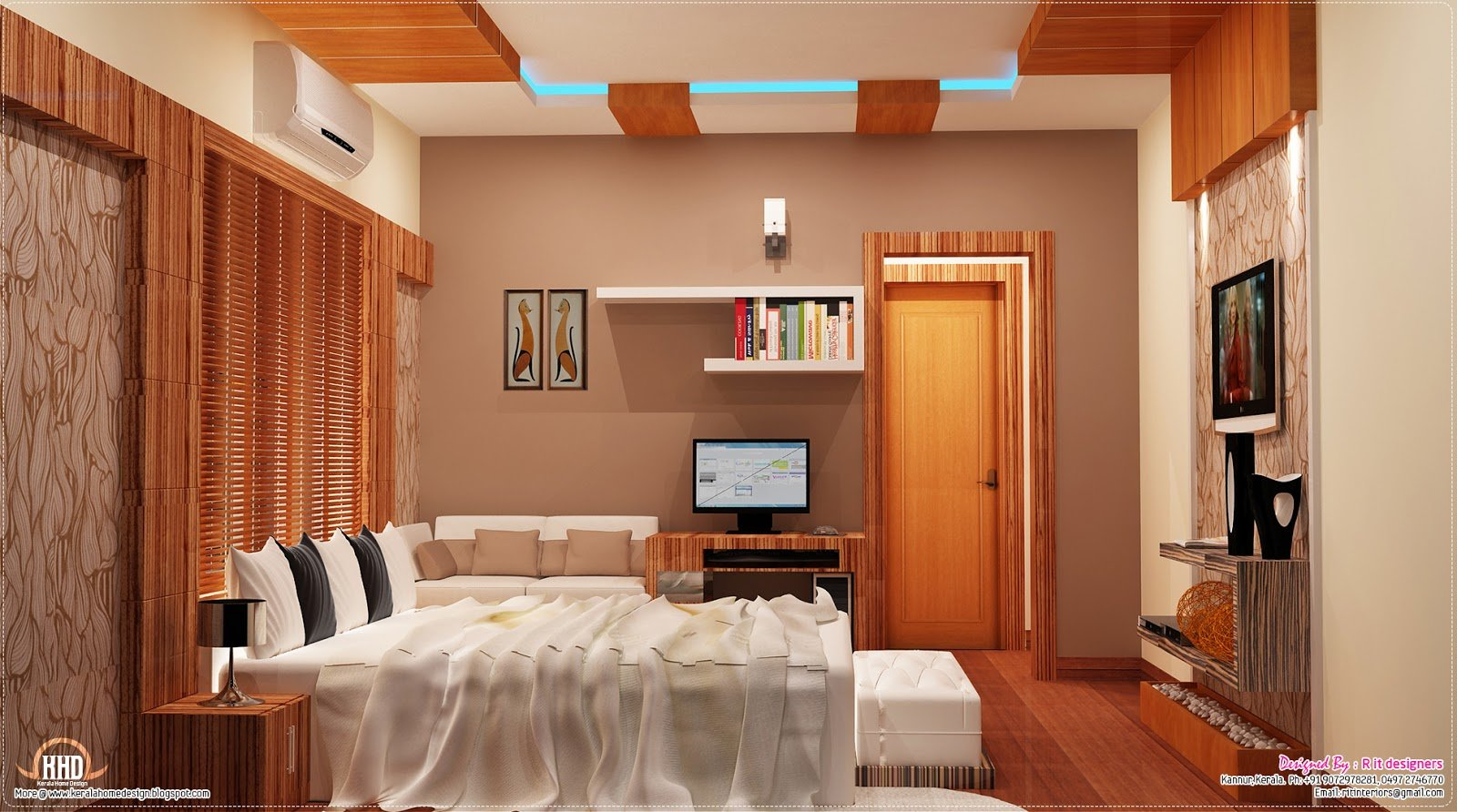 Best 2700 Sq Feet Kerala Home With Interior Designs House With Pictures