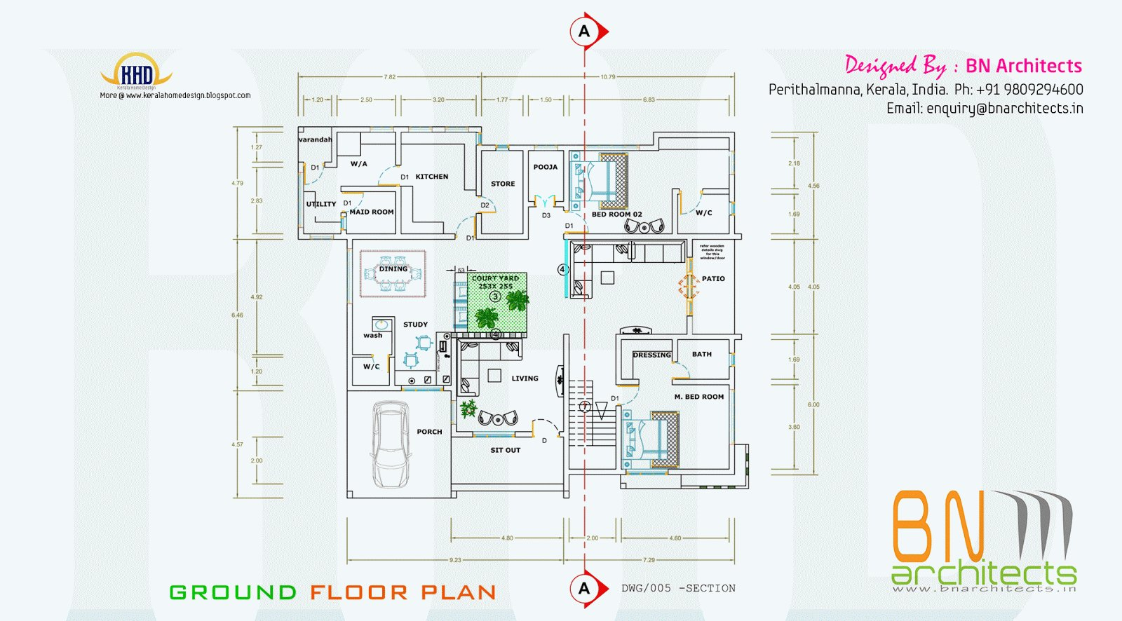 Best Floor Plan 3D Views And Interiors Of 4 Bedroom Villa With Pictures