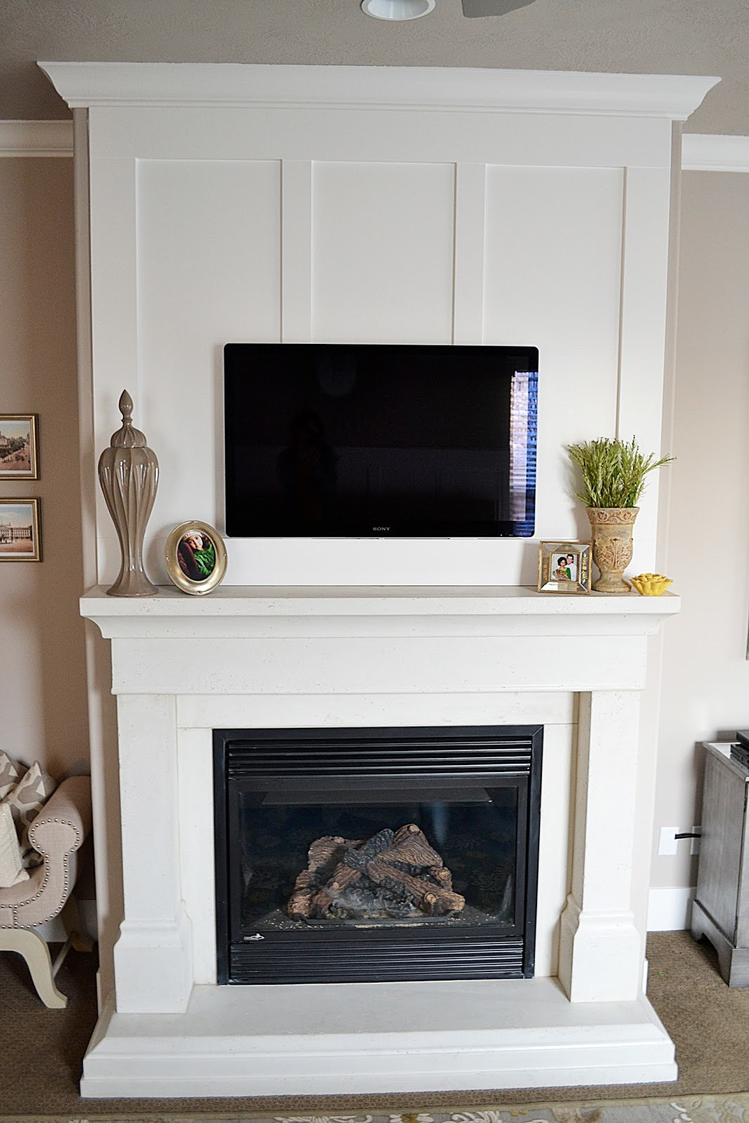 Best Sita Montgomery Interiors Master Bedroom Fireplace With Pictures