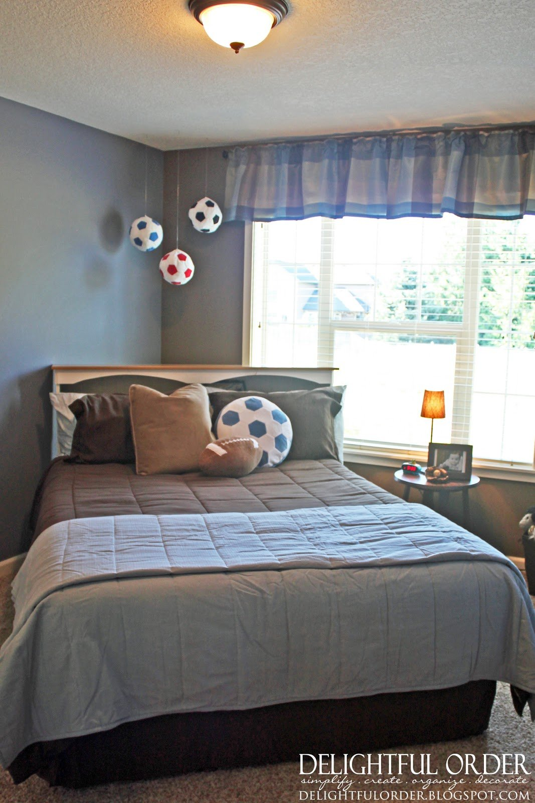 Best Delightful Order Boy S Sports Room Decor Clients Home With Pictures
