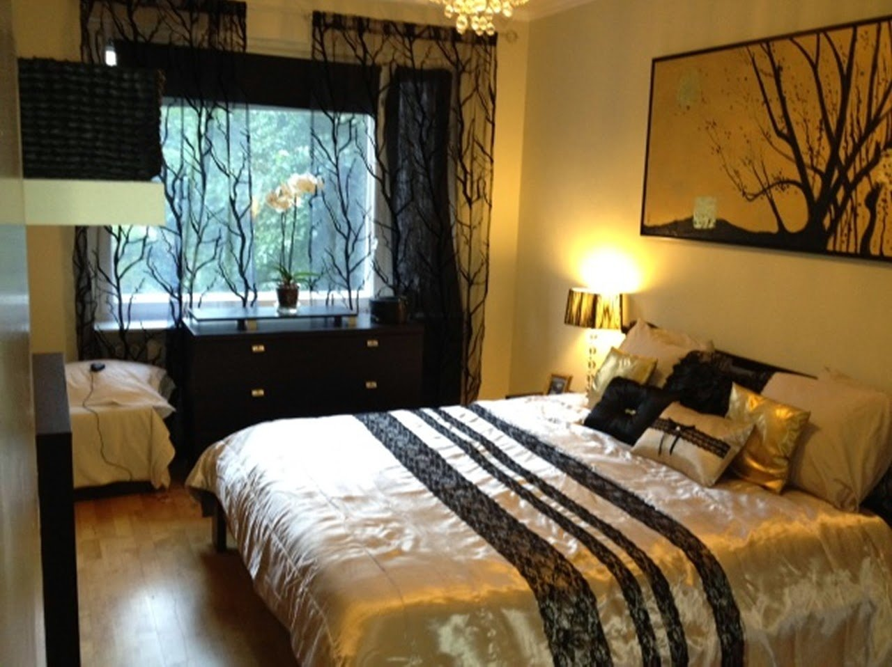 Best Jazzy S Interior Decorating Gold Black And White Bedrooms With Pictures