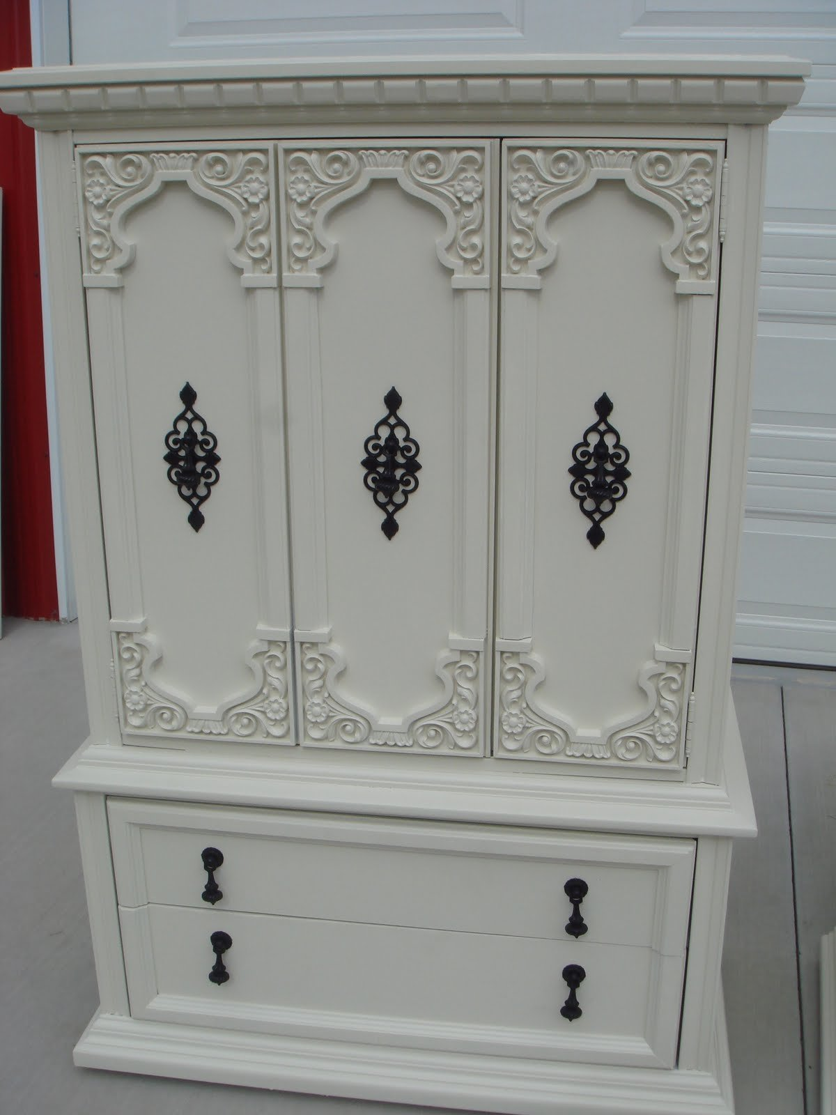 Best Copperstar Furniture Cream Ornate 7 Piece Bedroom Set With Pictures
