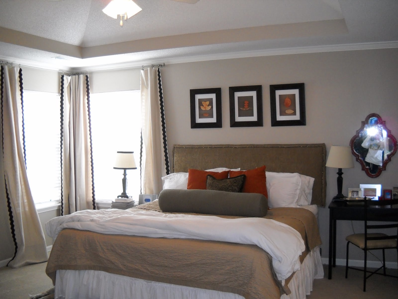 Best Master Bedroom Makeover Suburban Sp*Nk Diy Show Off ™ Diy Decorating And Home Improvement With Pictures