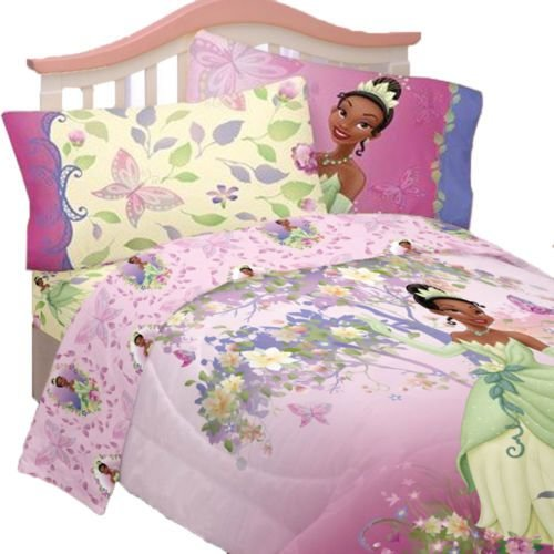 Best 5Pc Disney Princess Frog Full Bed Set Tiana Southern With Pictures
