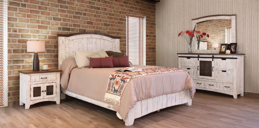 Best White Wash Bedroom Set Rustic White Bedroom Set With Pictures