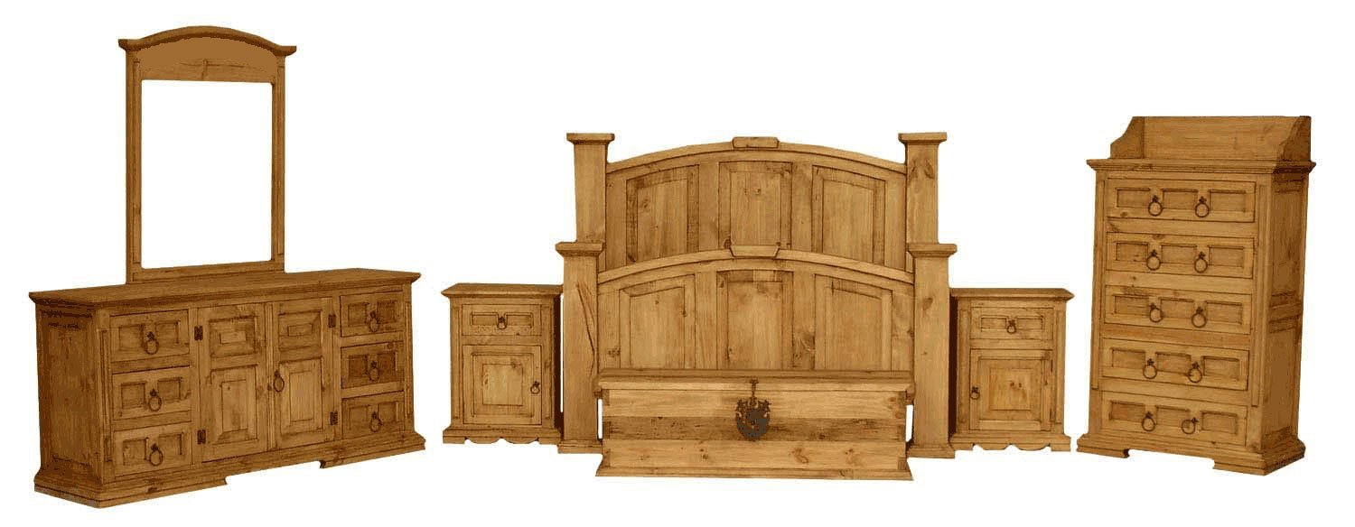 Best Rustic Bedroom Furniture And Rustic Pine Bedroom Furniture With Pictures