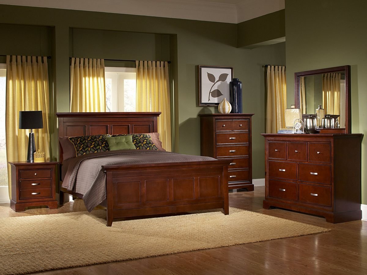 Best Glamour Espresso Finish Bedroom Furniture Set With Pictures