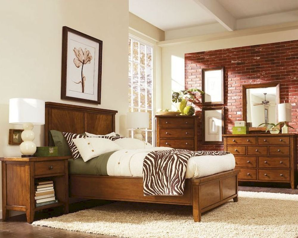 Best Aspen Furniture Panel Bedroom Cross Country Asimr 412Set With Pictures