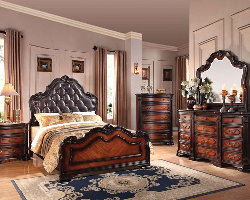 Best Classic Bedroom Set Le Havre By Acme Furniture Ac22400Set With Pictures