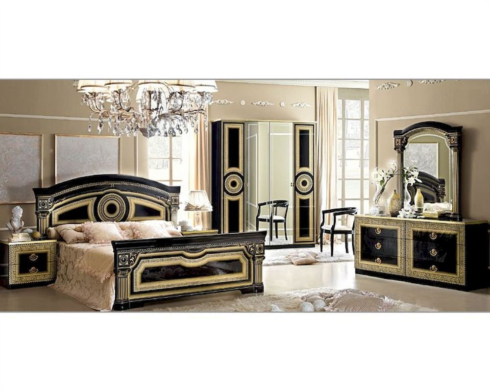 Best Classic Italian Bedroom Set Aida 3313Ai With Pictures