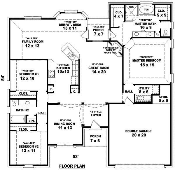 Best 3 Story Tiny House Plans House Floor Plans 3 Bedroom 2 With Pictures