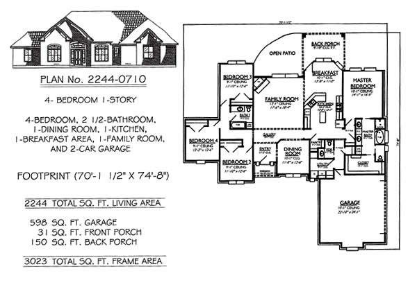 Best 3 Bedroom House Plans 2 Story House Plans With 4 Bedrooms With Pictures