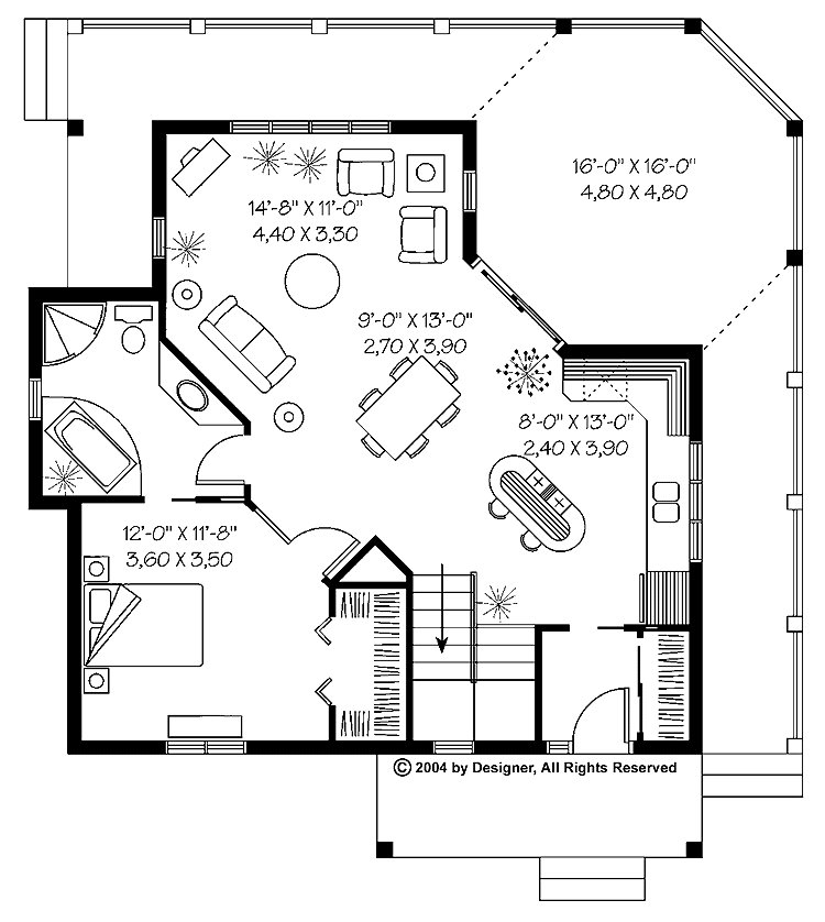Best 1 Bedroom Cabin House Plans 1 Bedroom Cabins Designs 1 With Pictures