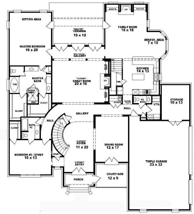 Best Vdara Two Bedroom Loft 4 Bedroom 2 Story House Floor Plans 4 Level House Plans Mexzhouse Com With Pictures