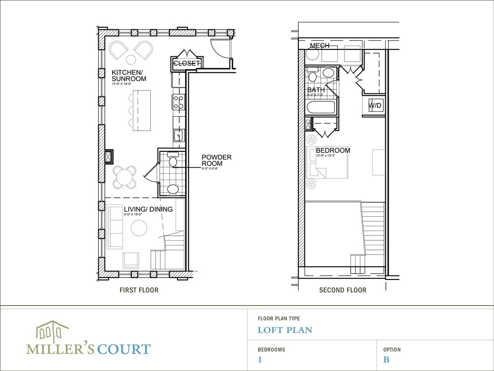 Best 1 Bedroom Loft Floor Plans 2 Story 1 Bedroom Loft House With Pictures
