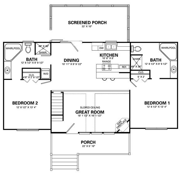 Best Simple 4 Bedroom House Floor Plans Simple House Designs 2 With Pictures
