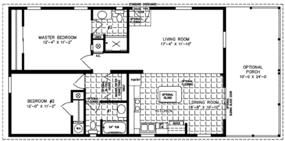 Best 2 Bedroom Mobile Home Inside 2 Bedroom Mobile Home Floor With Pictures