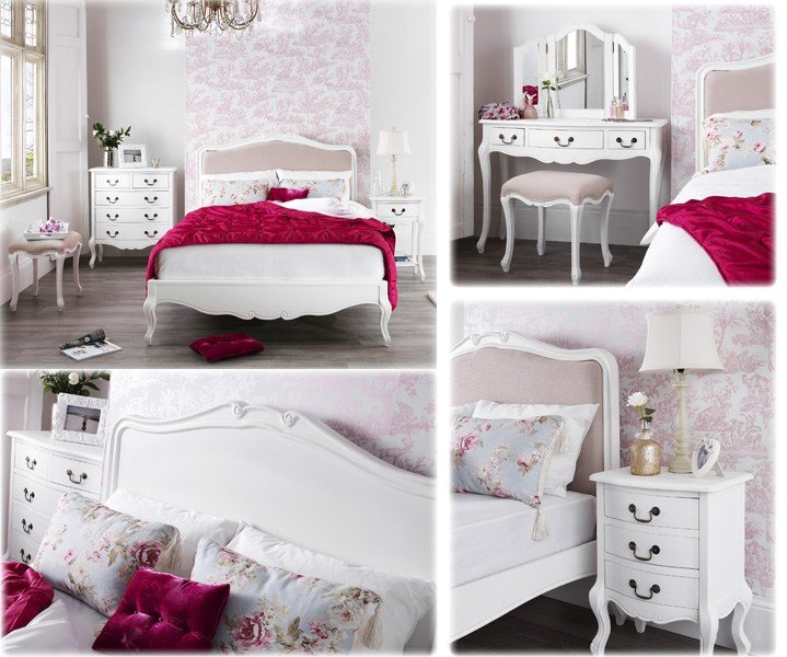 Best French Shabby Chic Bedroom Furniture Set Em Italia With Pictures