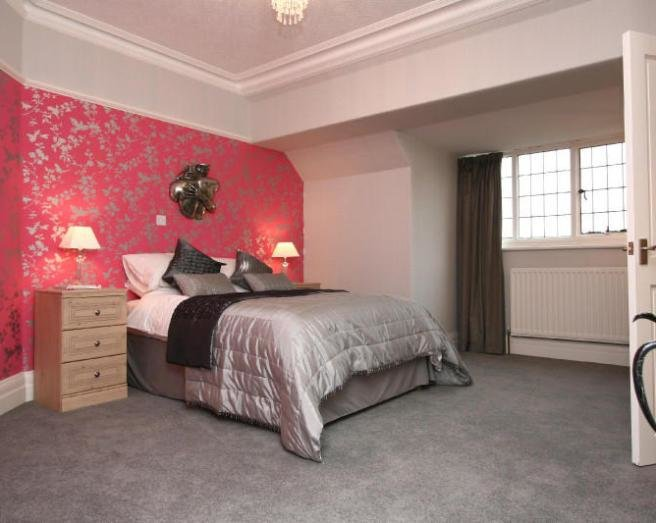 Best Bedroom Wallpaper Grey 14 Decor Ideas Enhancedhomes Org With Pictures