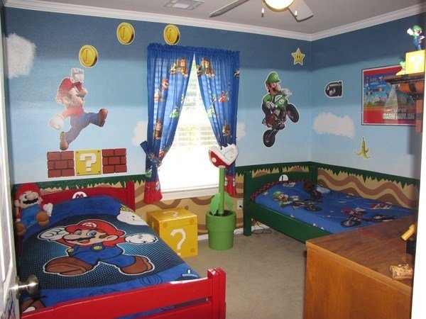 Best Inspiration Mario Themed Room For Your Kids Evercoolhomes With Pictures