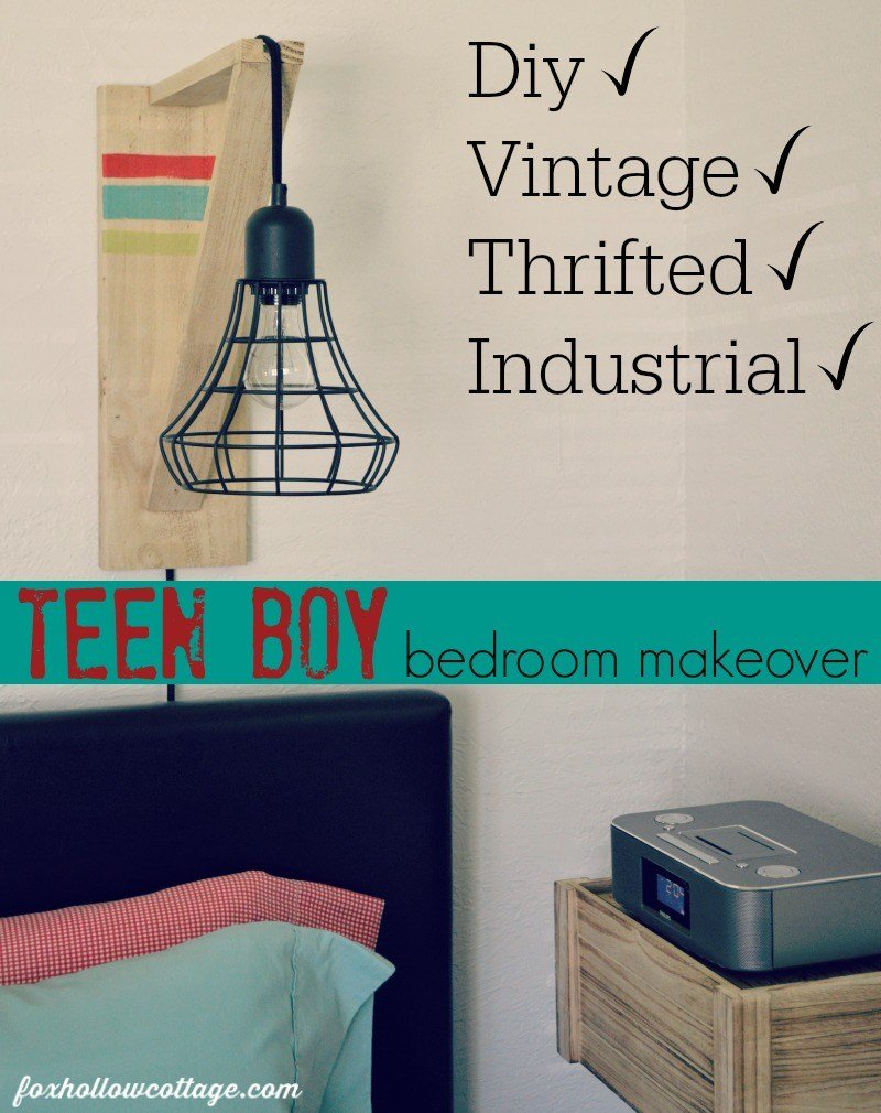 Best T**N Boy Bedroom Makeover Part One Fox Hollow Cottage With Pictures