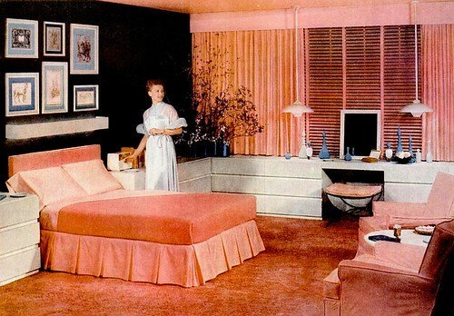 Best Mid Century Living Early 50S Bedrooms 1950 55 With Pictures