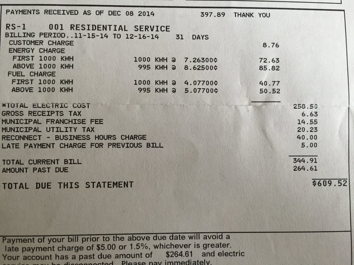 Best Average Monthly Electric Bill 1 Bedroom Apartment ...