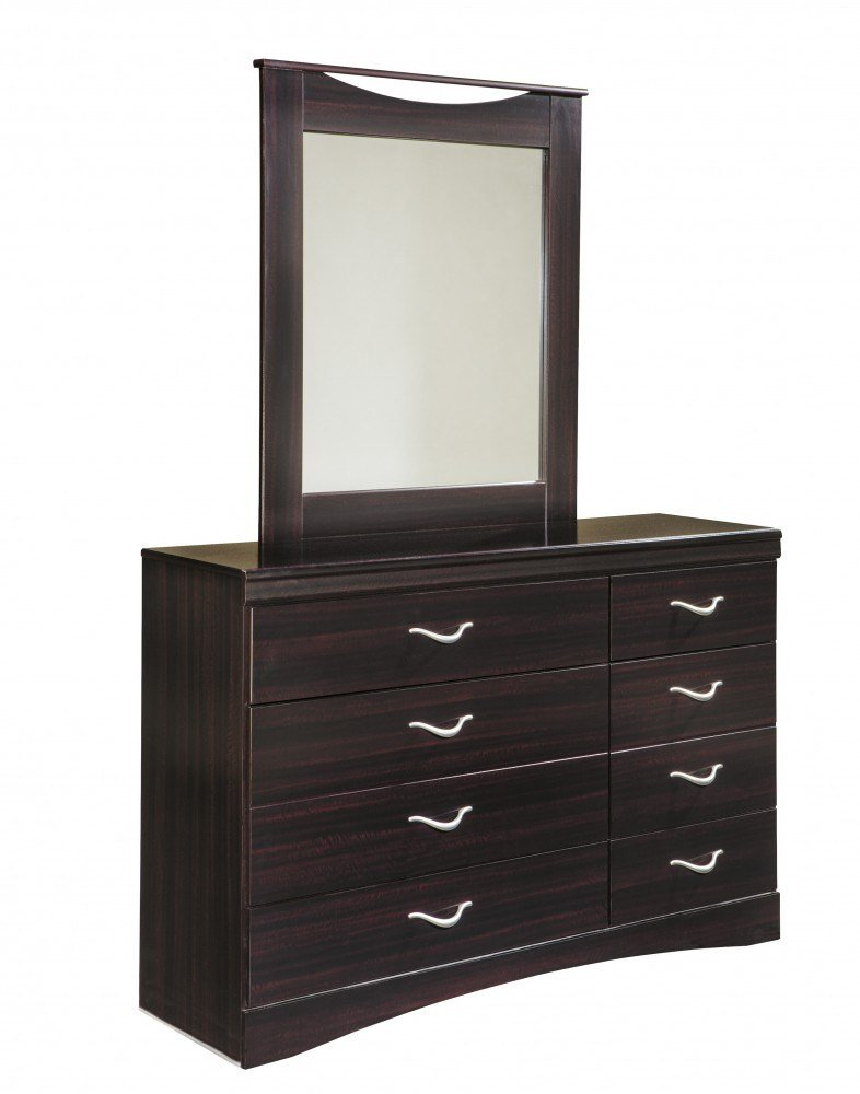 Best Zanbury Dresser Mirror B217 31 36 Bedroom Dressers With Mirrors Price Busters Furniture With Pictures