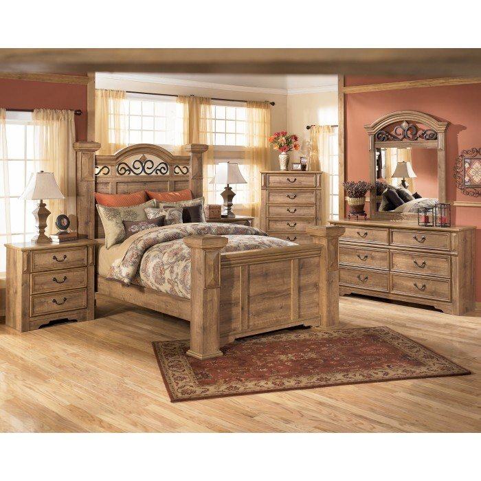Best B170B19 Ashley Furniture Whimbrel Forge 7 Piece Bedroom With Pictures