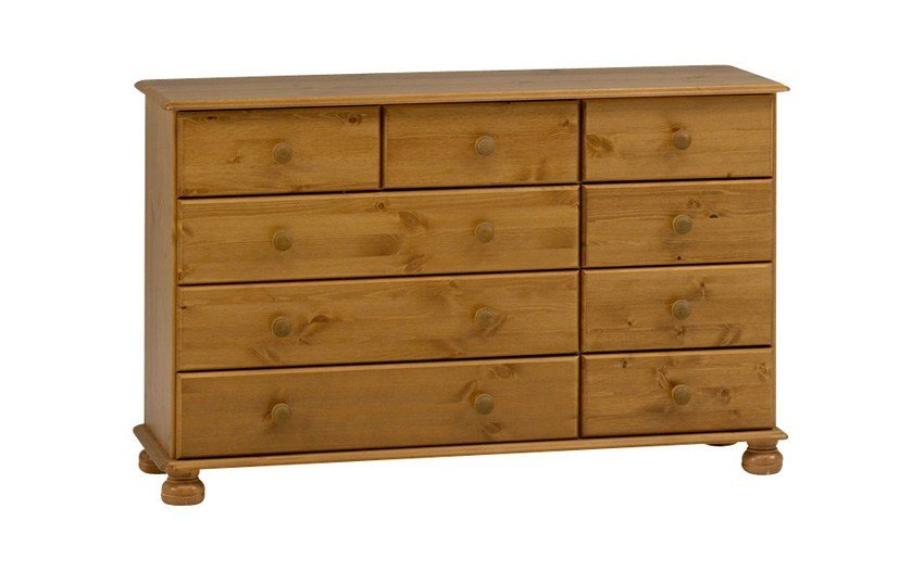 Best Steens Richmond Pine 6 Deep Drawer Chest Only £159 99 Furniture Choice With Pictures