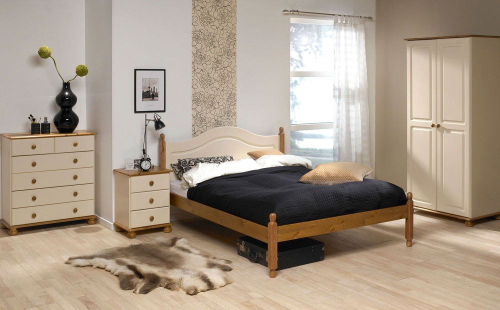 Best Steens Richmond Cream Pine Bedroom Furniture Only £49 99 With Pictures
