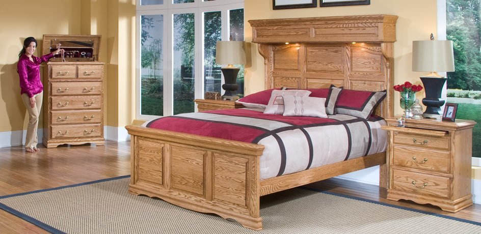 Best Panel Bed Solid Wood Panel Beds Made In Usa With Pictures