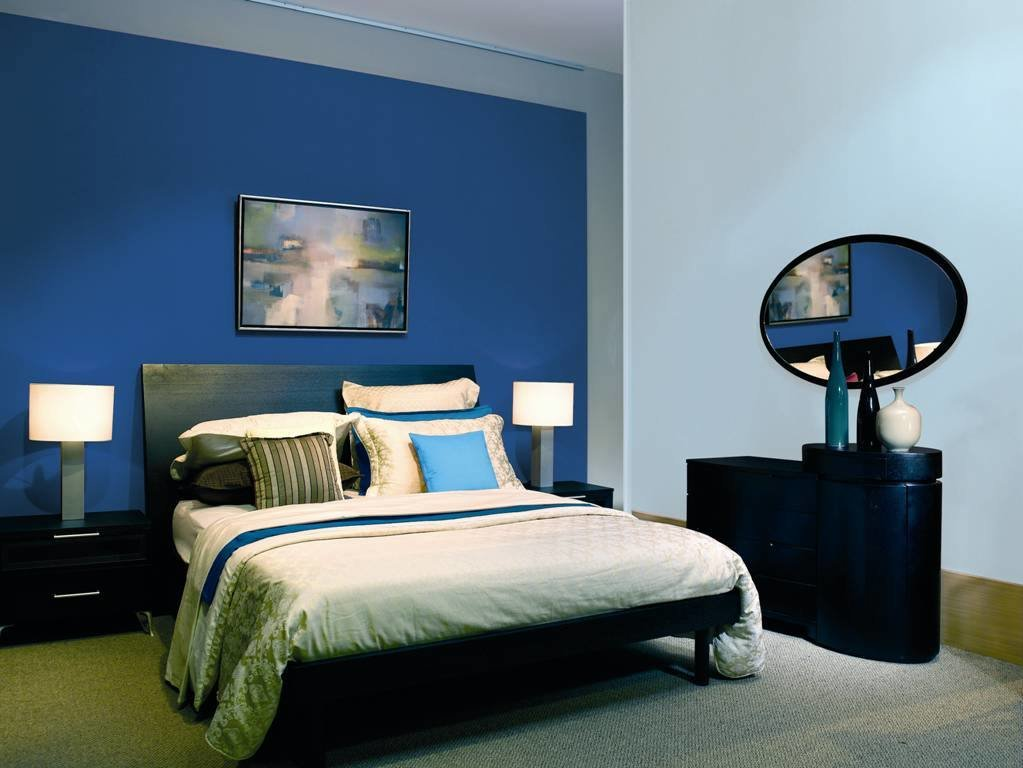Best How To Decorate A Master Bedroom In Blue Malaysia With Pictures