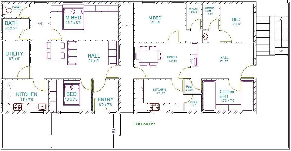 Best Vastu Plan First Floor Plan Vastuplans With Pictures