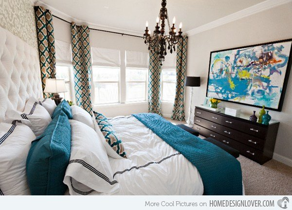 Best 15 Beautiful Brown And Teal Bedrooms Decoration For House With Pictures