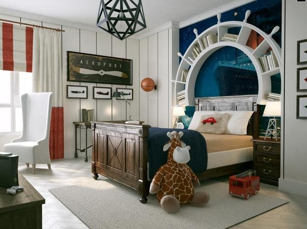 Best Nautical Decor Ideas Kids Room Decorating With Ship Wheels With Pictures