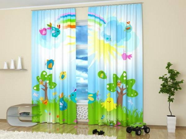 Best Custom Photo Curtains Adding Digital Prints To Kids Room Decorating With Pictures