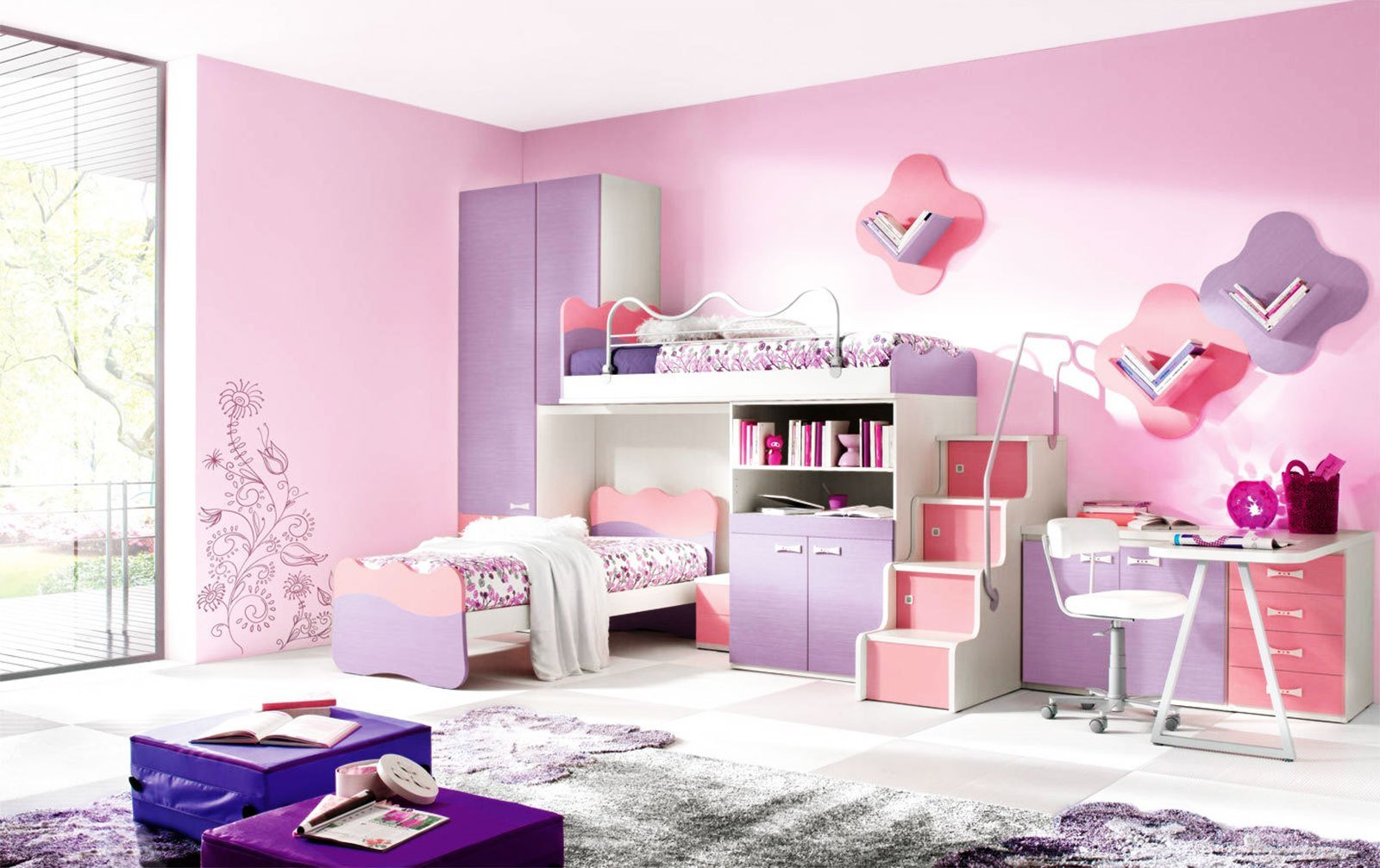 Best Girls Kids Bedroom Furniture Sets Furniture Ideas With Pictures